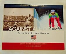 """United States Olympic Committee """"Against All Odds"""" 2014-2015 Calendar"""