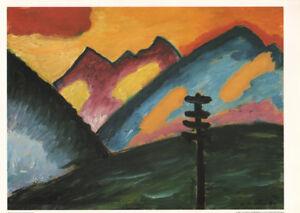 Alexej von Jawlensky - Solitude * VERY RARE PRINT 1992