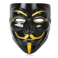 V for Vendetta Anonymous Guy Fawkes Face Mask for Halloween Fancy Dress Costume