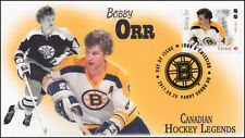 Ca17-023, 2017, Hockey Legends, Bobby Orr, Day of Issue, Fdc