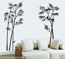 Wandtattoo Wand aufkleber XL Bambus Bamboos Vogel Wohnzimmer Deco