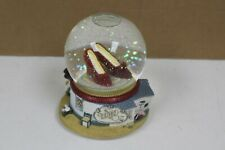 1999 Wizard Of Oz Snow Globe Dorothy Ruby Slippers San Francisco Music Box