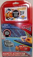 Disney Cars Magnetic Activity Set  New 12 Magnetic pieces & Board