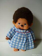 Peluche Kiki Monchhichi Sekiguchi Vintage ( 20cm ) avec robe de chambre / Ajena