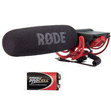 Rode Videomic Rycote Microphone Directionnel + 9v Batterie