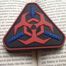ZOMBIE HUNTER OUTBREAK RESPONSE US ARMY MORALE BADGE HOOK 3D PVC PATCH