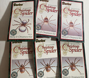 NEW Vintage Darice Legend of the Christmas Spider Ornament Kit - Lot of 6