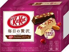 Kits Kat Japan NESTLE kitkat 6P RUM SAKE CRANBERRY milk mini chocolates candies