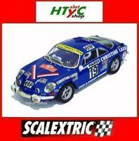 SCALEXTRIC RENAULT ALPINE A110 #19 MOUTON RALLYE MONTE CARLO 1976 SCX U10238S300