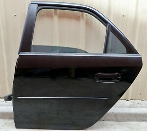 2003-2007 Cadillac CTS CTS-V Black Left LH Driver Side Rear Door Used OEM GM