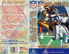 NFL GOES MOTOWN - SONGS FROM THE BIG THRILL - VHS -N&S -Never played -Rare! -PAL