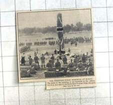 1924 North West Frontier Force Memorial Unveiled At Kohat