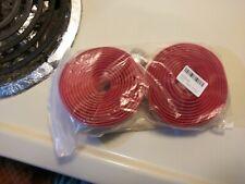 Bicycle handlebar tape red