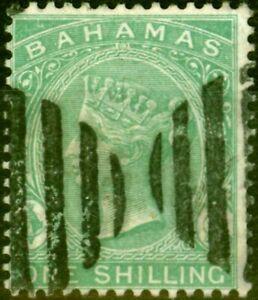 Bahamas 1882 1s Grün SG44 Gestempelt