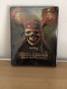 pirates of the caribbean 2 Dead Man's Chest steelbook Pirates Des Caraïbes 2