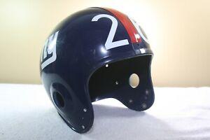 Vtg 70s Marietta Suspension issued Football Helmet SHELL New York Giants #26  31