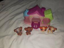 LITTLEST PET SHOP PLAYFUL PUPPIES PLAYSET #37(2), #38, #39