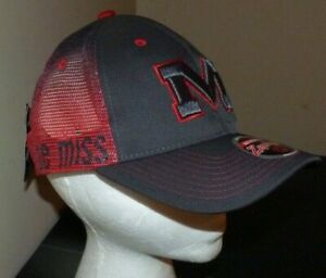 NEW ZEPHYR Ole Miss Rebels Baseball Style Hat Cap - Strapback - NEW NWT