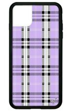 Wildflower Case for iphone 11 Pro - Lavender Plaid