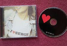 I LOVE SERGE - ELECTRONICA GAINSBOURG CD ALBUM. 2001.  NEAR MINT