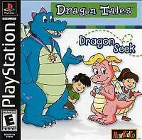 Dragon Tales:Dragon Seek(PS1/1999)USED IN V. GOOD CONDITION!COMPLETE!SEE PICS!