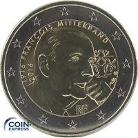 *** 2 Euro Gedenkmünze FRANKREICH 2016 Francois Mitterrand France Coin ***