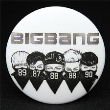 Fashion KPOP BigBang Collective Badge Brooch Chest Pin Souvenir Gift