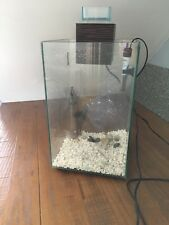 Small fluval fish tank with accessories