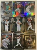 Pick your Player Card 2019 Panini Prizm Draft Picks Baseball Singles - Set