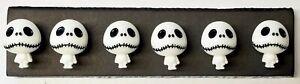 JACK SKELETON BODY Halloween Push Pins - 6 Handmade Thumb Tacks