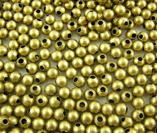 500pcs Smooth Ball Spacers Beads 4mm Dia.