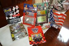 Lot of 7 NASCAR Diecast Cars Card Dale Earnhardt Bill Elliot Lebonte Kelloge NIB