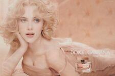 Publicité papier  - advertising paper - The One Rose Dolce & Gabbana 2 pages