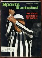 SI: Sports Illustrated November 11, 1963 War Against Roughness in Pro Football G