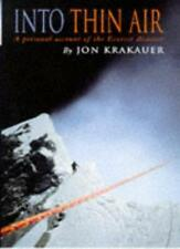 Into Thin Air: A Personal Account of the Everest Disaster,Jon Krakauer