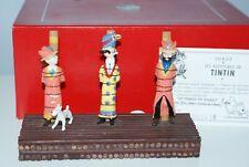pixi le bûcher Tintin 4 rondins Moulinsart no Aroutcheff, no Leblon