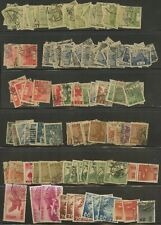 Japan~Collection of early Used Stamps