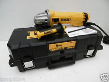 DEWALT DWE4206K 110V 115MM 1010 WATT ANGLE GRINDER + KITBOX & DIAMOND DISC