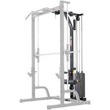 MEGATEC Lat Tower Option 115kg Stack // Power Cage Half Rack Smith Machine Addon