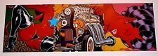 COOP mini Art Poster Print Devil Girl Hot Rod Blower Parts with Appeal - 3 Piece