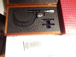 Electronic Digital Micrometer, Starrett, 733XFLZ-4
