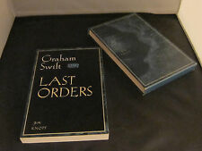 LAST ORDERS by Graham Swift. Booker Prize 1996, First Edition, Proof, Signed