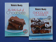 WOMEN'S WEEKLY - THE LITTLE BOOK OF CHOCOLATE & CHOCOLATE CLASSICS *SLICES CAKES