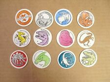 POGS/MILKCAPS STANPAC DINOSAURS COMPLETE SET OF ALL (12) AWESOME
