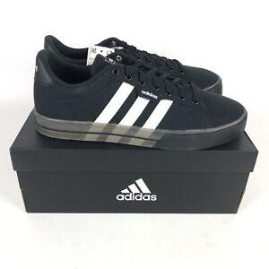 Adidas Daily 3.0 Skateboarding Shoes Mens Size 11 Black White FW7050