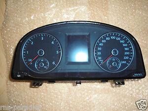 Originale VW Touran Premium Strumento Combinato Contachilometri Tdi TFT Colori