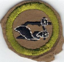 BOY SCOUT FARM MECHANICS SAND FINE TWILL MERIT BADGE (TYPE D) 1942-1946