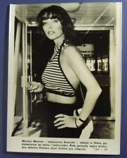 JOAN COLLINS  black & white RARE polish official photo by CAF Central Photo Agen