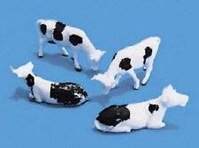 4 cows black & white farm scenery Model Scene 5100 Oo Ho British