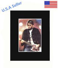 Kurt Cobain Portrait 8x10 matted Art Print Poster Decor picture Gift Photograph